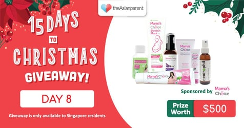 theAsianparent's 15 Days To Christmas Giveaway 2020: Day 8 of 15