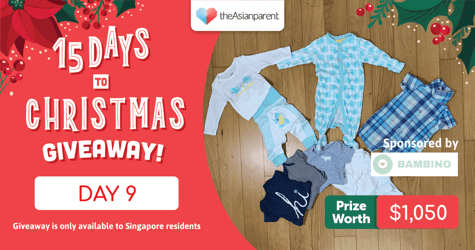 theAsianparent's 15 Days To Christmas Giveaway 2020: Day 9 of 15