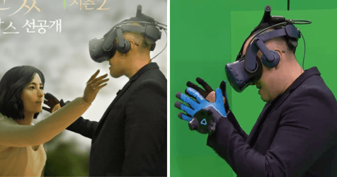 Sorrow-stricken Husband Weeps As He Reunites With Deceased Wife Through Virtual Reality
