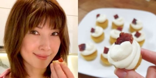 We Tried Making Jeanette Aw's Bak Kwa Cake And The Result Was Worth It