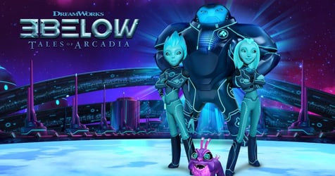 Tales Of Arcadia: 3Below Premieres On DreamWorks On March 1