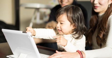 Is My Toddler Too Young To Be Playing With Tablets?