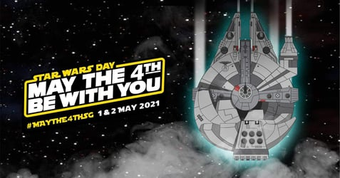Celebrate STAR WARS Day At ArtScience Museum This May!