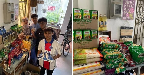 This Made My Day: Family Sets Up Ramadan Gifting Store Outside Tampines HDB Home For Those In Need