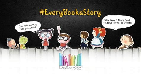 EveryBookaStory: Read 'n' Give Campaign ~ A Charity Drive