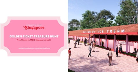 Finders, Keepers: Museum Of Ice Cream Singapore Drops Free Tickets In Golden Ticket Scavenger Hunt!