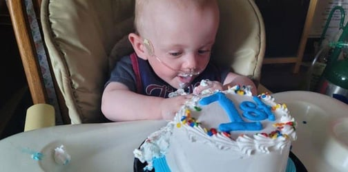 Miracle Baby Born A Record-Breaking 131 Days Premature Celebrates His First Birthday