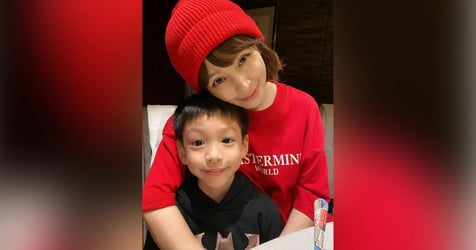 Vivian Hsu Talks Life And Death With 6-Year-Old Son After He Asks If They Can Live Till 100 Together