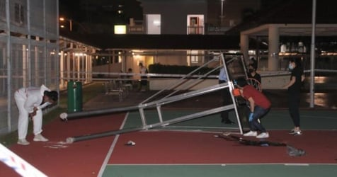 17-Year-Old Dies After Basketball Hoop Structure In Bedok Falls On Him
