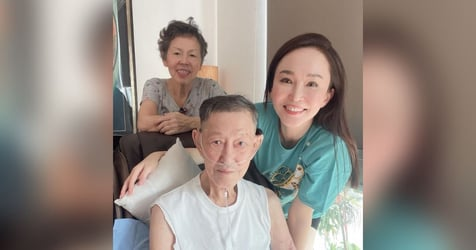Fann Wong's Father Dies At The Age Of 81