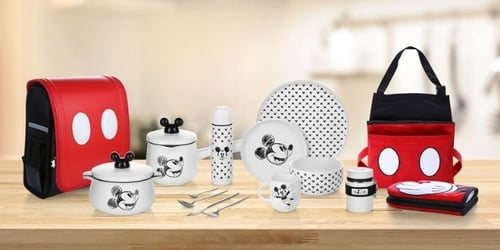 Bring Magic Into Your Homes With This Mickey Mouse Collection From NTUC FairPrice's Loyalty Programme!
