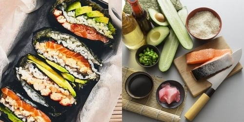 This Salmon Aburi Sushi Recipe Is Not Only Easy, But Tastes Delicious Too!