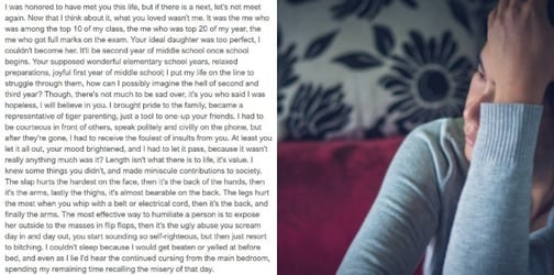 Chilling Suicide Note Of A 14-Year-Old Girl Is A Wake Up Call For Over-Competitive Parents