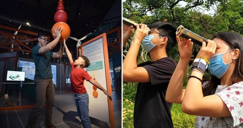 Science Centre Singapore's Activities This September