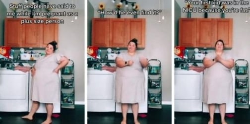 Plus-Size Pregnant Mum Reveals How She Gets Brutally Trolled For Her Weight