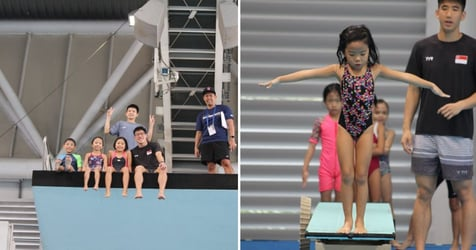 Make Your Child The Next Olympic Diving Star! Join The Singapore Diving Talent Search