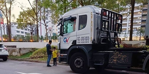 Singaporean Samaritan Plans A Sweet Gesture For Dad Who Brings His Autistic Son To See Trucks Daily