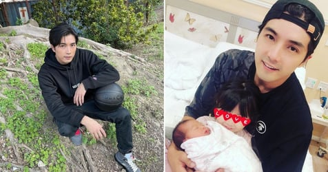 Mike He Apologises After Netizens Flame Him For Implying He Would Abort Pregnancy If It's Another Daughter