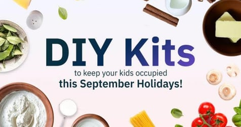 Keep Kids Occupied And Safe This September Holidays With DIY Kits From Oddle Eats