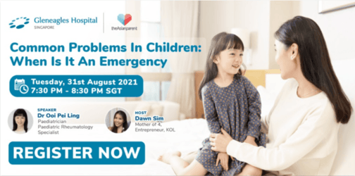 Everything You Need To Know About Common Problems In Children And When It Is An Emergency