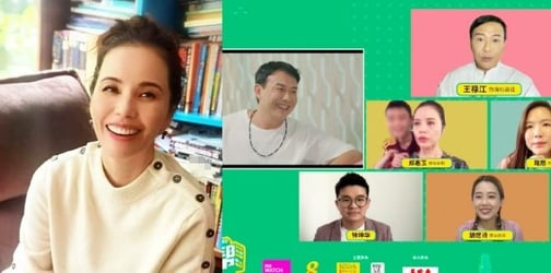 'Not So Complicated Lah': Zoe Tay On Reports She Was Annoyed After Son Gatecrashed Her Livestream