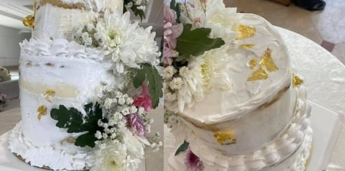 Singapore Couple's $330 Wedding Cake Arrives Melted At Their Wedding Venue!