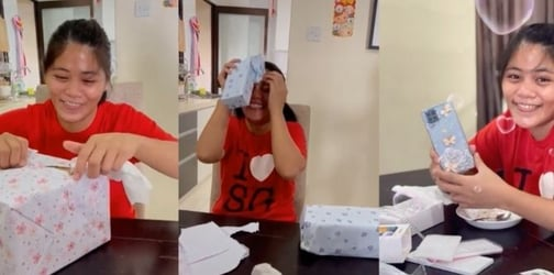 Singaporean Employer Gifts Luxury Phone To Their Filipino Domestic Help, Wins The Internet!