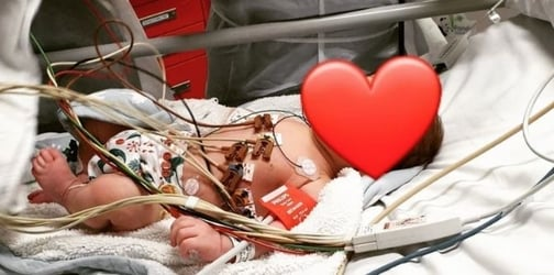 Mum Performs CPR On Her 7-Week-Old Baby After He Suddenly Stops Breathing