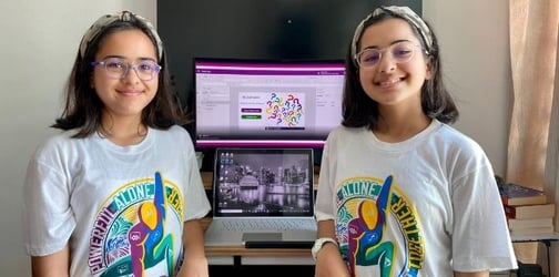 Twins Zara And Zenubia Are Breaking The Glass Ceiling And Inspiring Young Girls To Adopt STEM