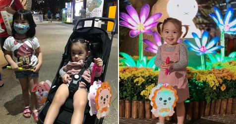 Kindness Goes A Long Way: Little Girl Spreads Cheer By Giving Away Her Festival Lantern To Another Child