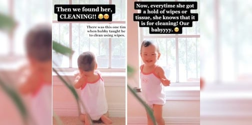 Mum Realises Her Toddler Is Awfully Quiet, The Reason Turns Out To Be Adorable