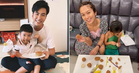 How These 5 Celebs Celebrated Mid-Autumn Festival 2021 With Their Kids