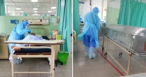 'My Heart Dropped': Malaysian Man Films Heart-Wrenching Footage Of Covid-19 Patient Saying Last Goodbye To His Family Over Video Call