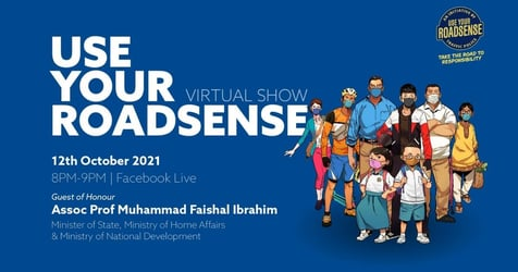 Traffic Police's Use Your RoadSense Virtual Show Live On 12 October