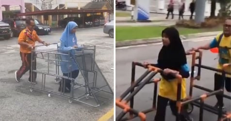 Malaysian PE Teacher Builds Assistive Frame, Allowing Visually-Impaired Students To Run Freely In Viral Video