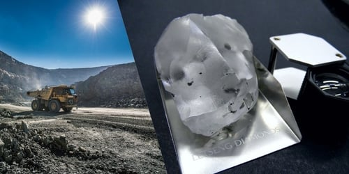 Just Discovered: The Fifth Largest Diamond In The World