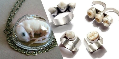 World's Weirdest Jewellery: 9 Of The Most Bizarre Jewellery You'll Ever See