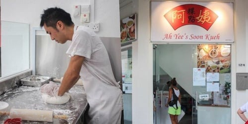 Man Gives Up S$10,000 Job As Bank Trader To Help Mother Run Hawker Business
