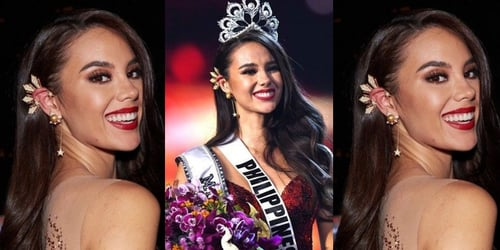 Gray's Miss Universe Earrings Have Started A Major Trend!