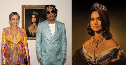"""Why The Heck Did Beyonce And Jay-Z """"Bow Down"""" To Meghan Markle At The Brit Awards?"""
