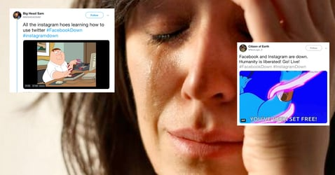 13 Of The Best Tweets About The Facebook And Instagram Blackout