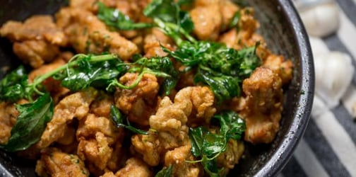 How to make Taiwan-style salt and pepper chicken