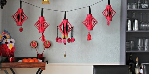 11 DIY Chinese New Year decorations you can make using red packets