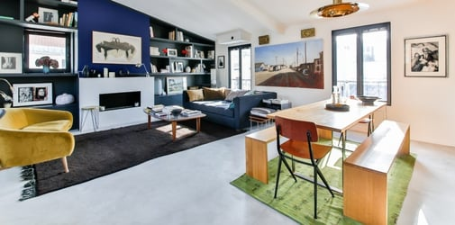 Is the open plan design going out of trend for home living?