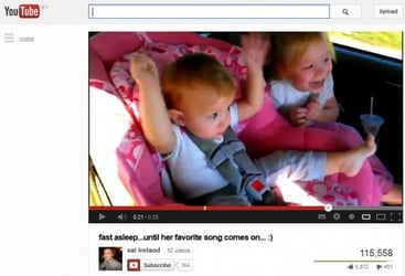 Funny video: Find out what this baby's favourite song is
