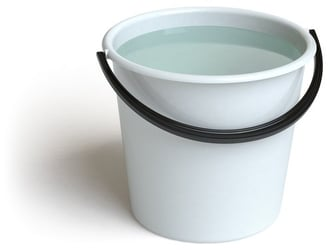 14-month-old drowns in pail of water