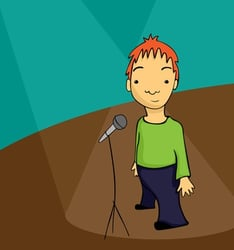 Who says stand-up comedy is just for adults?