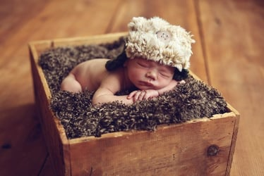 Sleeping in a cardboard box a safer option for your baby