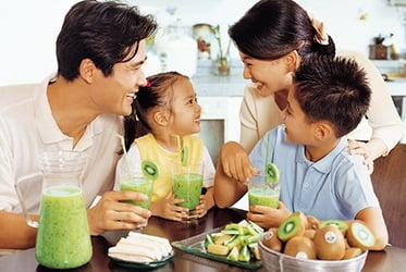 Zespri Green Kiwifruit – a much needed fibre boost for your child!