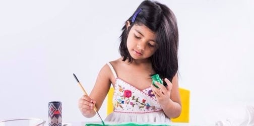 Mums, are you encouraging your little ones to be creative?